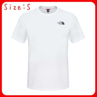 THE NORTH FACE - THE NORTH FACE Simple Dome 半袖 Tシャツ 白 S