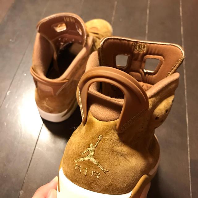 NIKE(ナイキ)のJordan6 ウィート スウェード ダンク dunk sb supreme メンズの靴/シューズ(スニーカー)の商品写真