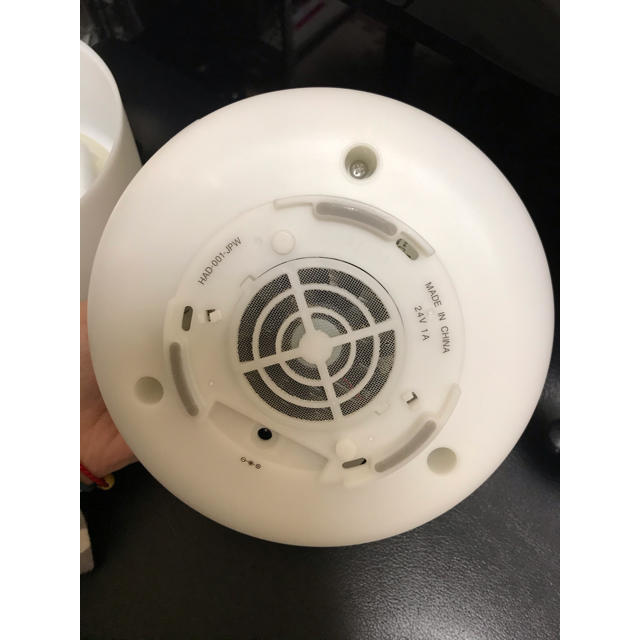 MUJI (無印良品)(ムジルシリョウヒン)の無印良品 MUJI 超音波うるおいアロマディフューザー  スマホ/家電/カメラの生活家電(加湿器/除湿機)の商品写真