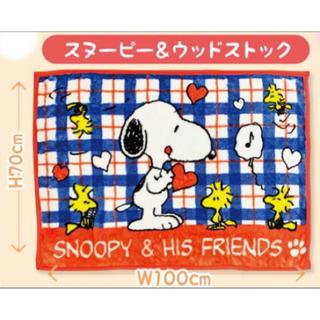 スヌーピー(SNOOPY)のお値下げ!スヌーピー マイヤーハーフケット(毛布)