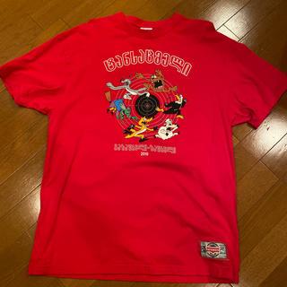 バレンシアガ(Balenciaga)のVETEMENTS レッド Sサイズ(Tシャツ/カットソー(半袖/袖なし))