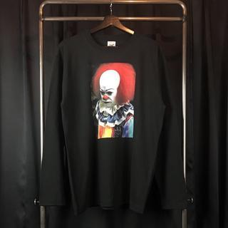 新品  IT ペニー ワイズ 長袖 黒 Tシャツ XS S M L XL