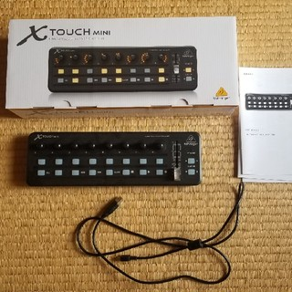 ベリンガーUSBコントローラー X-TOUCH mini