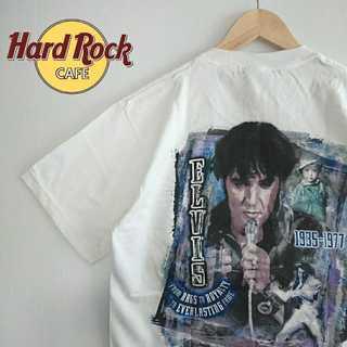 703 貴重 90年代製 未使用品 ハードロックカフェ ヴィンテージ Tシャツ(Tシャツ/カットソー(半袖/袖なし))