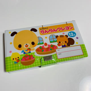 【発送可】新品★チャイルドブック らんらんクレヨン 12色