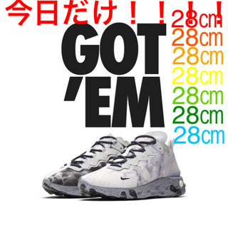 ナイキ(NIKE)のKENDRICK LAMAR×NIKE REACT ELEMENT55 28㎝(スニーカー)