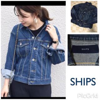 シップス(SHIPS)の美品♡SHIPS デニムジャケット Gジャン Sサイズ(Gジャン/デニムジャケット)