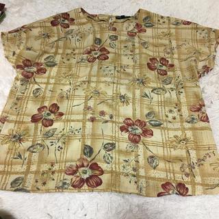 古着 半袖 レディース 柄(シャツ/ブラウス(半袖/袖なし))