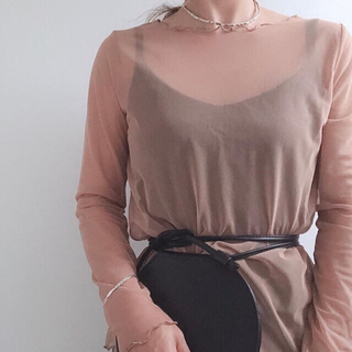 Lochie - the Virgins scallop tops 🧁beige