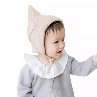 ボンポワン(Bonpoint)のベビー ボンネット✴︎アイボリー(帽子)