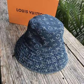 LOUIS VUITTON - バケットハット 美品 L v レディース エレガント