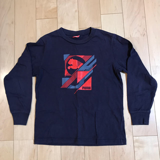 プーマ(PUMA)のキッズ長袖Tシャツ PUMA 140(Tシャツ/カットソー)
