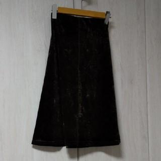 クリツィア(KRIZIA)のベロアスカート(ひざ丈スカート)