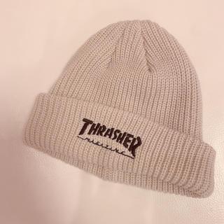 THRASHER - THRASHER ビーニー 未使用品 ニット帽 帽子