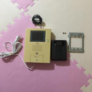 動作確認済 インターフォン カメラ付きドアホン 液晶モニター 親機子機セット