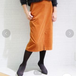 プラージュ(Plage)のPlage ビアンカラーニコールストレートスカート プラージュ 36(ひざ丈スカート)