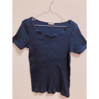GU - ニットティーシャツ