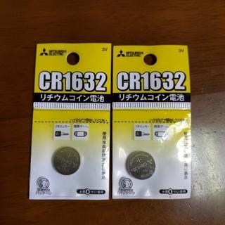 三菱電機 - 三菱CR1632 3Vリチウムコイン電池 リモコンキーや携帯ゲームに