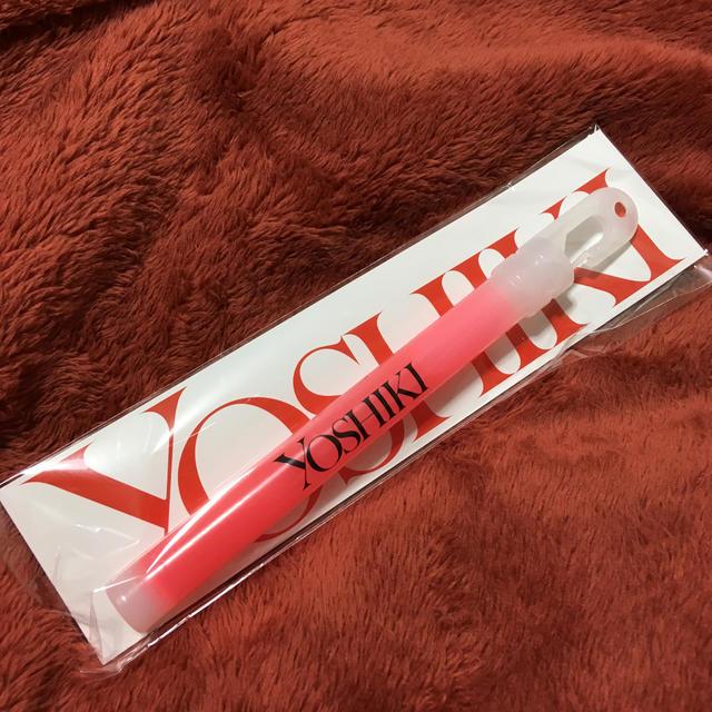 YOSHIKI スティックライト エンタメ/ホビーのタレントグッズ(ミュージシャン)の商品写真