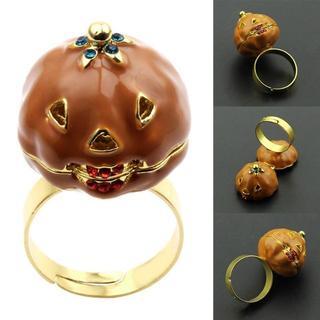 新品 リング 指輪 かぼちゃ パンプキン(リング(指輪))