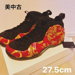 NIKE - ▪️美品▪️NIKE × Supreme FOAMPOSITE 赤