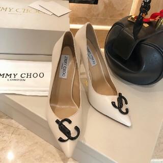 ジミーチュウ(JIMMY CHOO)のJimmy Choo  グリッターパンプス  サイズ36(ハイヒール/パンプス)