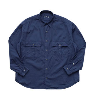 ポーター(PORTER)のPorter Classic - ROLL UP DOT SHIRT/ BLUE(シャツ)