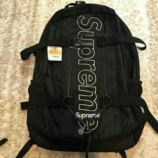 Supreme -  SUPREME 18FW Backpack Black