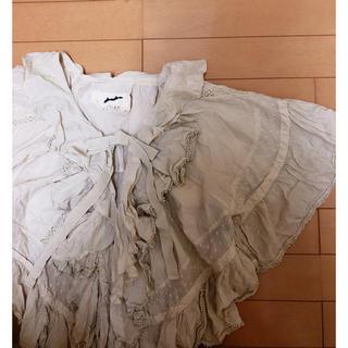 ファーファー(fur fur)のFrill blouse*(シャツ/ブラウス(長袖/七分))