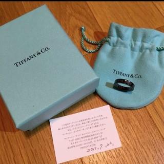 Tiffany & Co. - ティファニー 1837 チタンリング