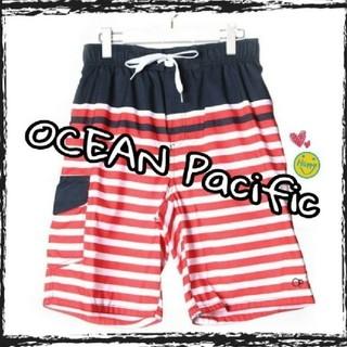 オーシャンパシフィック(OCEAN PACIFIC)のOP☆オーシャンパシフィック★サーフパンツ♪M~XL★☆海パン★4種類あります!(水着)