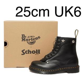 ドクターマーチン(Dr.Martens)の【新品未使用】Dr.Martens × Schott 1460 25cm UK6(ブーツ)