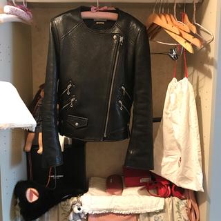 イザベルマラン(Isabel Marant)のISABEL MARANT riders jacket.(ライダースジャケット)