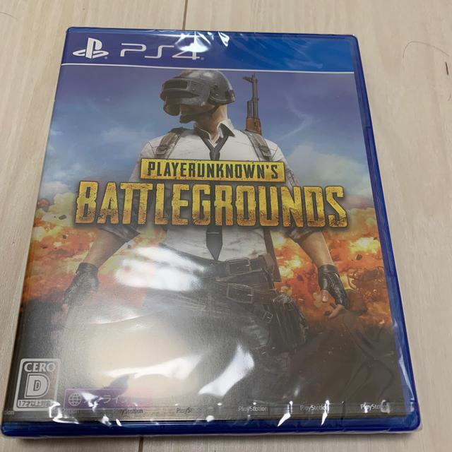 PlayStation4(プレイステーション4)のpubg ps4 ソフト 新品 エンタメ/ホビーのゲームソフト/ゲーム機本体(家庭用ゲームソフト)の商品写真