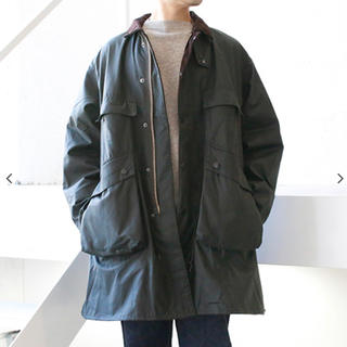 Barbour - Kaptain Sunshine × Barbour トラベラーコート40 OD