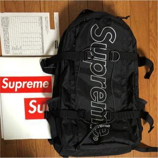Supreme - 18FW Supreme Backpack Black
