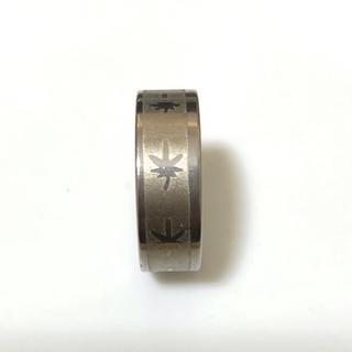 同時購入で300円ステンレス指輪ヘンプ(リング(指輪))