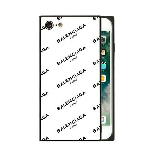 Balenciaga - スクエア ガラスケース iPhoneケース バレンシアガ BALENCIAGA
