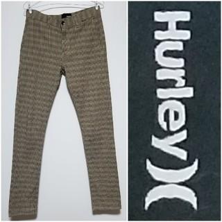 Hurley - 【Hurley/ハーレイ】スキニー カラーチノ カラーデニム タータンチェック