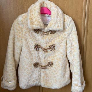 リズリサ(LIZ LISA)のLIZ LISA モコモコ ファー ダッフル コート(毛皮/ファーコート)
