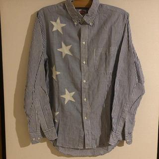 DENIM DUNGAREE - DD リメイクストライプBDシャツ 170サイズ