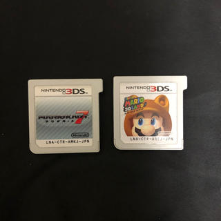 ニンテンドー3DS(ニンテンドー3DS)の3ds カセット マリオカート7 スーパーマリオ3Dランド(家庭用ゲームソフト)