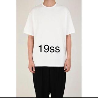 ラッドミュージシャン(LAD MUSICIAN)のBIG T-SHIRT 19ss 新品 44サイズ(Tシャツ/カットソー(半袖/袖なし))