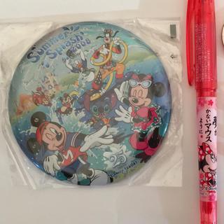 ディズニー 25周年バッジ・ミニー合格祈願フリクションペン