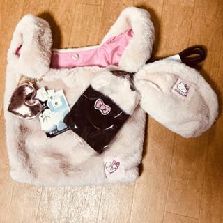 しまむら - 新品♡4点セット♡キティちゃんトートバッグ♡