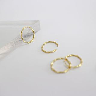 Ron Herman - sv925 sterling silver twist ring シンプル 華奢