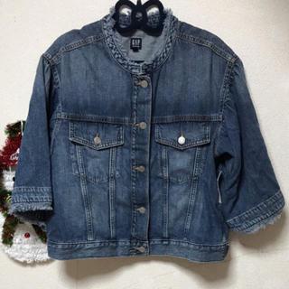 新品♡GAP♡big袖♡オーバーサイズ♡デニムジャケット♡L