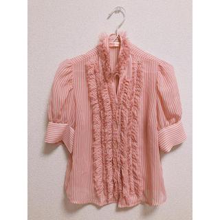 ROSE FANFAN - ストライプシャツ