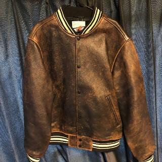 Supreme - Supreme Leather Varsity Jacket 19SS