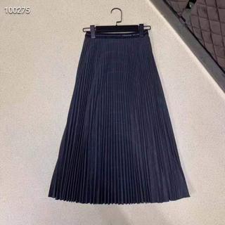 プラダ(PRADA)のプラダ サーキュラースカート 黒(ひざ丈スカート)